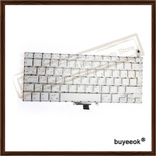 "Original White A1181 AR Arabic Keyboard Replacement for Apple Macbook 13.3"" A1181 Arab Language Keyboard without Backlight"