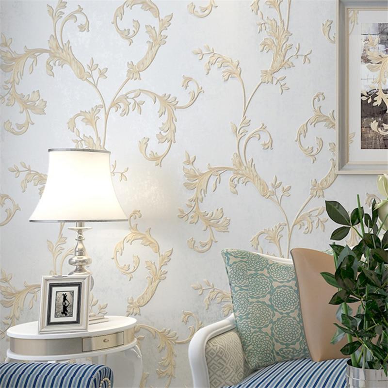 beibehang wallpaper dedicated carved living room bedroom wallpaper European - style large TV background wallpaper Epic<br>