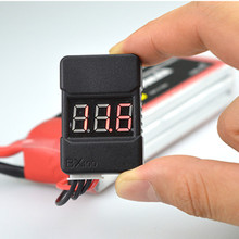1pcs BX100 1-8S Lipo Battery Voltage Tester/ Low Voltage Buzzer Alarm/ Battery Voltage Checker with Dual Speakers(China)