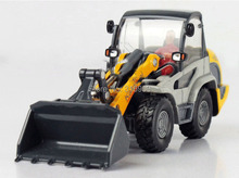 Shovel model scale 1:50 ABS Alloy diecast truck model 4 rubber wheels engineer machine Shovel truck model toy vehicles