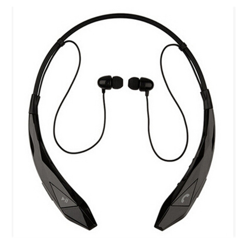 HBS-902 Wireless Stereo Bluetooth 4.0 Ear HooK Headsets Headphones Flex Neck Strap EarBud Noise Cancelling Earphones,XSE12<br><br>Aliexpress