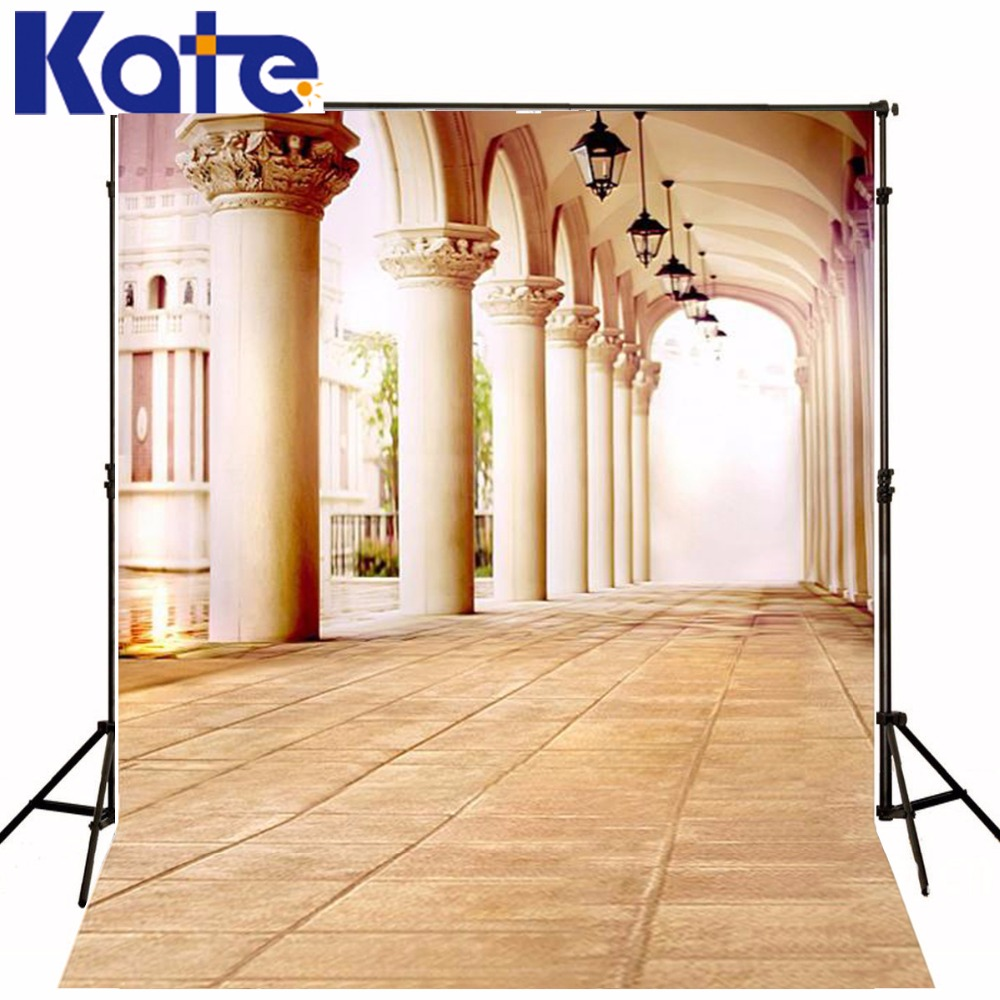 300Cm*200Cm(About 10Ft*6.5Ft) Backgroundspillar Chandelier Gallery Photography Backdropsthick Cloth Photography Backdrop 3158 Lk<br>