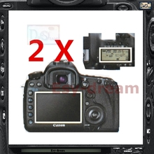2pcs High Quality Main LCD + Shoulder Display Screen Film Protector For Canon 5D Mark III MKIII 5D3 5DIII PB435