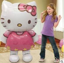 Larger Size Cartoon Hello Kitty Foil Ballon Best For AD Store Open Party