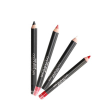New brand Matte Lip Liner Pencil Functional Eyebrow Eye Lip Makeup Waterproof  Cosmetic Lipliner Pen chocolate white black khaki