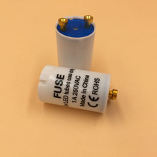 25pcs/lot factory direct led starter for led t8 tubes fuse starter CE Rohs lamp led tube starter(China)