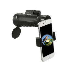 Eyebre 10x42 Telescope Monocular Compact Handheld Multi-coated Monocular Spotting Scope Telescope with Smartphone Adapter Mount(China)