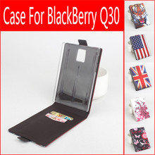 5 Styles Original Painted Leather Case Wallet Flip Case For BlackBerry Passport Q30 Leather Case Flip Cover Case Phone Cover