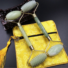 1PCS Barbed Face Massage Roller Pratical Jade Facial Anti Wrinkle Healthy Body Head Portable Nature Beauty Health Care Tools