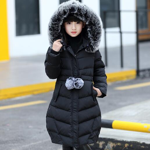 Girls winter jacket down Jackets Coats warm Kids thick Down cotton jacket Children Outerwears for cold -30 degree jacket<br>
