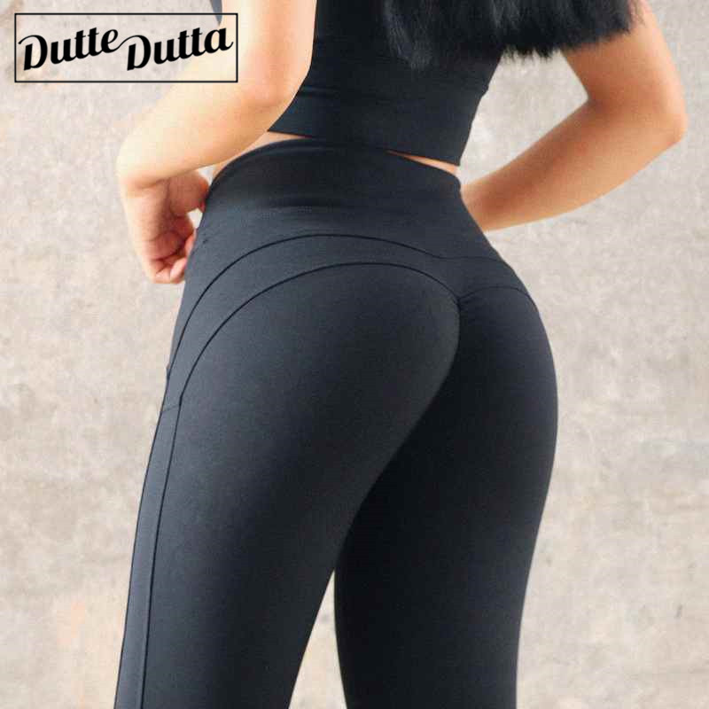 Plus Size Yoga Pants Sport Women Ruched Butt Lift Booty Leggings Fitness Gym Run