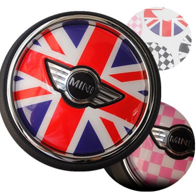 New Arrival car accessories tissue boxes sunshade hanging holder union jack for mini cooper F56 R56 R55 F54 etc.