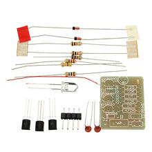 New Arrival 3-12V GSM Mobile Phone Signal Flash Light DIY Kit Electronic Circuit Training Suite Board(China)