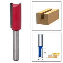 "1/4 ""Shank 1/2"" Blade Woodworking Double Flutes Straight Router Bit Cutter Tool(China)"