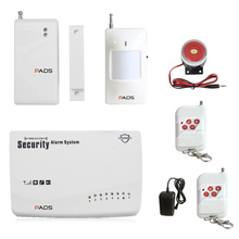 Factory Direct Offer Upgrades G62 Wireless GSM Alarm System Home Security Security Auto Dial And SMS Voice Prompt Alarm System(China)