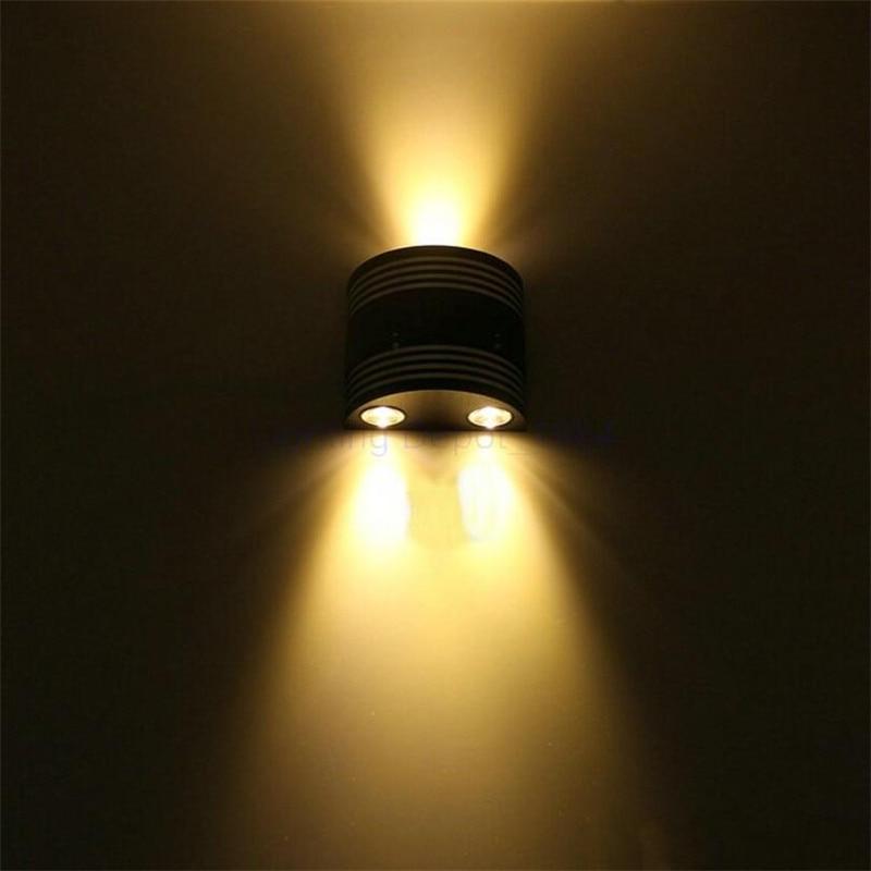 3W Aluminum LED Wall Sconce Up Down Lights Indoor Decorate Foyer Corridor Living room Bedroom Lighting AC85-265V HZ18<br><br>Aliexpress