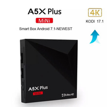 Buy DOITOP Mini Android 7.1 A5X Plus RK3328 Rockchip TV BOX 1GB 8GB 2.4G WIFI 100M LAN HD2.0 USB3.0 4K VP9 HDR10 Media Player for $39.80 in AliExpress store