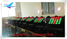 Led panel light led stage lighting 25x12w rgbw 4in1 lyre panneau led moving head light matrix(China)