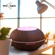 Home 300ml Aroma Essential Oil Diffuser Led Light Mist Maker Forgger Ultrasonic Diffuser Aromatherapy Cool Mist Air Humidifier(China)