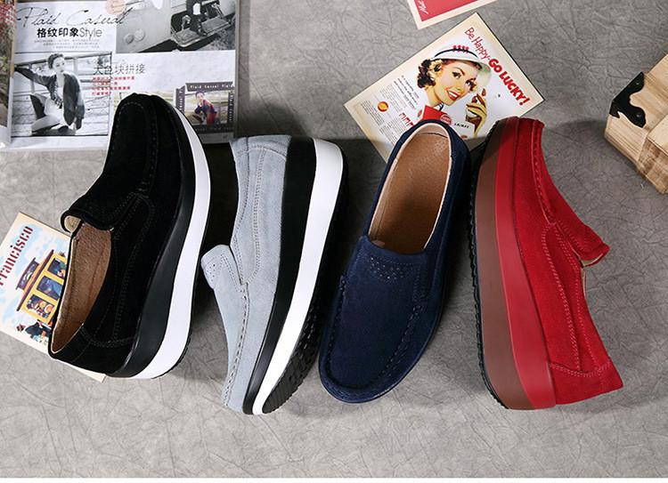 HX 3213 (1) Autumn Platforms Women Shoes