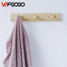 WFGOGO Home Furnishing Solid wooden Living Coat Racks Children clothes racks hangs hooks Stands Scarves Hats Bags Clothes Shelf