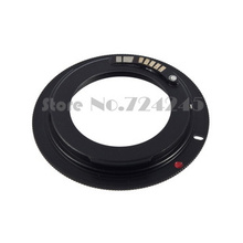 New AF III Confirm M42 Lens to EOS Adapter For Canon Camera EF Mount ring 60D 550D 600D 7D 5D 1100D Black
