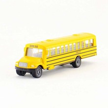 Collection 1/87 Scale American School Bus Model U1864 Diecast Bus Children Collections Diecast Car Model Toys Vehicles l20 Gift