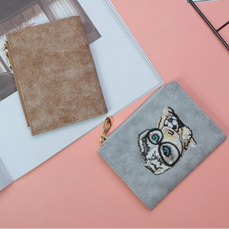 YOUNNE Women Wallets PU Leather Card Holders for Girls Wallet Bag for Card Holder High Quality Coin Purse Solid Carteira Feminin08