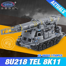 Xingbao 06005 175Military Series 8U218 TEL 8K11 Set Building Blocks Bricks Children Educational Boy`s Toys Model Gifts - Gelida Store store