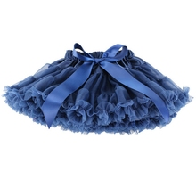 Baby Girls Tutu Skirts With Bow Lace Tulle Skirt 2016 Summer Dance Costume Party Pettiskirt Tutus Pink White For 1-10 Years GS06