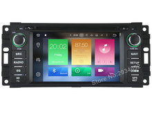 FOR JEEP GRAND CHEROKEE WRANGLE Android 6.0 Car DVD player Octa-Core(8Core) 2G RAM 1080P 32GB ROM gps car multimedia auto stereo(China)