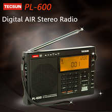 TECSUN PL-600 Digital Radio Tuning Full-Band FM/MW/SW-SBB/AIR/PLL SYNTHESIZED Stereo Radio Receiver