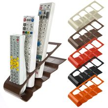 1 Pc Useful TV/DVD Step Remote Control Storage Mobile Phone Holder Stand Organiser 4 Frame Home Organization Hot