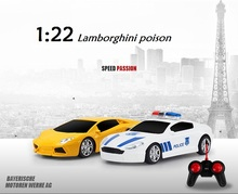 rc drift car 1:22 poison high simulation racing car LED light  gift for kids with original box