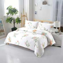3pcs 100% cotton bedding set customized printing duvet cover pillowcase quilt cover USA Full/Queen 86X86'' new bed cover