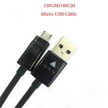 Original 120CM/180CM Micro USB Cable 2A Fast Charging Data Sync Cable Cord For LG G2 G3 Mini G4 V10 K8 K10 X Power XIAOMI HUAWEI(China)