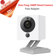 Original Xiaomi XiaoFang 110 Deg F2.0 8X Digital Zoom Xiaomi Little Small Square Camera Night Vision WiFi IP Smart 1080P Camera