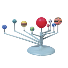 DIY planetary instrument for chrilden nine planets model puzzle assembled solar system children science education funny gadgets