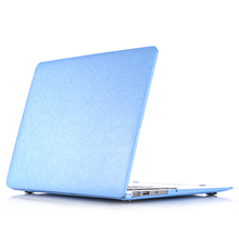 "Hard Case Silk Pattern Leather Cover Snap-on Shell Protective Skin Ultra Slim Light Weight for Apple Macbook Air 13-inch 13.3""(China)"