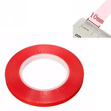 50m x 10mm Width Silicone Double Sided Tape Sticker For Mobile phone High Strength No Traces Double Sided Adhesive Sticker