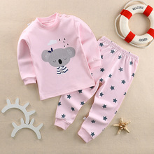 Cartoon Baby Boy Clothes 2017 Newborn Baby girls Clothes Set Leisure Baby Clothing Suit (Shirt+Pants) kids boys Clothes Set