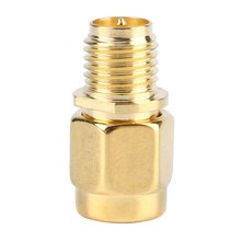 RP SMA Female Jack to SMA Male Plug For RF Coaxial Cable Straight Mini Jack Plug Wire Connector Adapter(China)