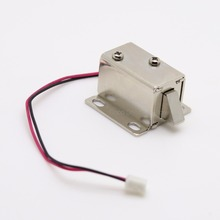 1pcs Mini Small Solenoid Electromagnetic Electric Control Cabinet Drawer Lock DC 12V