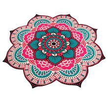 High Quality Beach Towel Microfiber Printed Wall Hanging round Yoga Mat Towel Blanket Bathing Suit Cover Ups