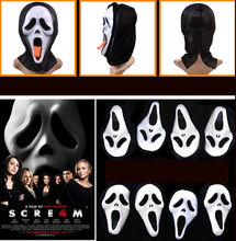 The Ghost of Death Cosplay Halloween Party Horror Scream Masks Christmas Gift Free Shipping Hot