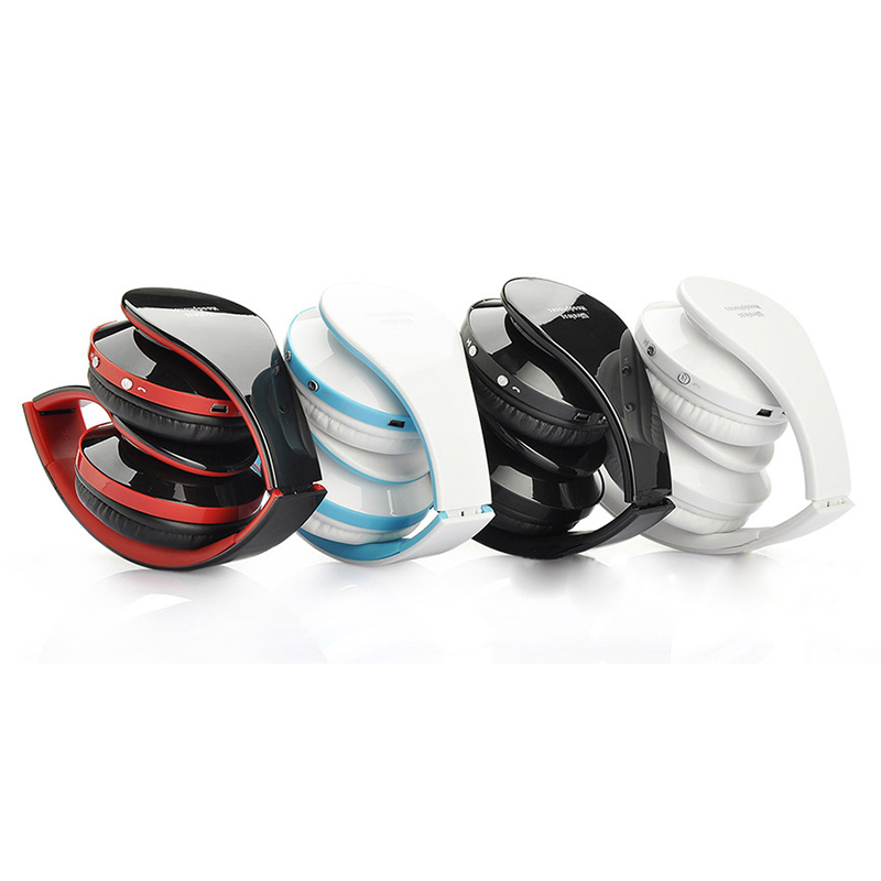 New Wireless Bluetooth Headset Headphone Stereo Foldable Handsfree Earphone with Microphone for iPhone HTC Galaxy #81337<br><br>Aliexpress