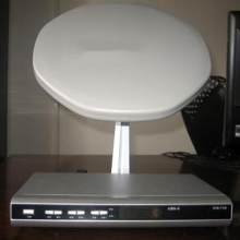 Free Shipping Mini Satellite Dish with 11.7-12.2GHz Ku Band Lnb(China)