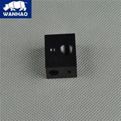 Wanhao D5S, Mini Duplicator 5S spare parts aluminum heater block<br><br>Aliexpress