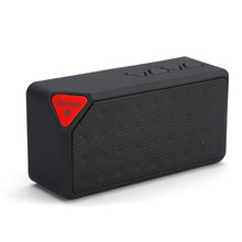 mini Bluetooth Speaker X3 Fashion Style TF USB Wireless Portable Music Sound Box Subwoofer Loudspeakers with Mic(China)