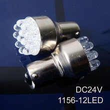 Hot sale 24V BA15S P21W S25 1156 led truck lights,Freight truck PY21W 24v led bulb,truck 24v led lamps free shipping 10pcs/lot